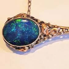 antique and vintage opal jewelry