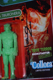 Sandy Collora autographed action figures - hand signed - Shallow Water  Series | #1843000166