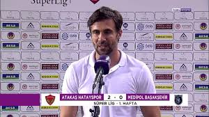 Hatayspor 2 - 0 Başakşehir ( Ömer Erdoğan ve Futbolcular Maç Sonu  Açıklamalar : Rakibi iyi .... ) - YouTube