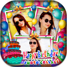 birthday photo collage maker for