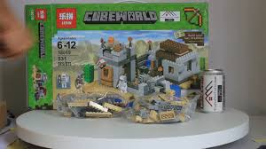MỞ hộp Lepin 18019 Lego Minecraft 21121 The Desert Outpost giá rẻ ...