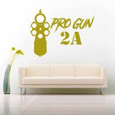 Pro Gun Second Amendment 2a Vinyl Car Truck Window Decal Sticker