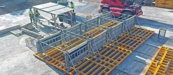 safety platform for wall formwork sbu