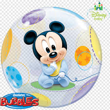 Disney Baby Mickey Mouse Minnie Mouse Balloon The Walt Disney ...
