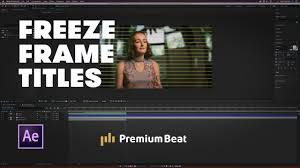 create a freeze frame le sequence
