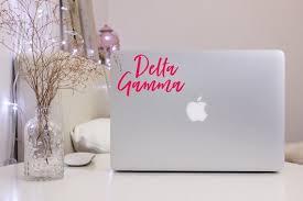 Delta Gamma Decal Dg Laptop Car Sticker Sorority Gift Etsy