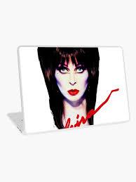 Elvira The Mistress Laptop Skin By Stefeb1 Redbubble