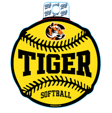 Sticker B84 C Tiger Softball Cowley College Bookstore