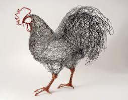 Simply Creative: Wire Bird Sculptures by Celia Smith