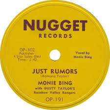 78 RPM - Dusty Taylor And His Rainbow Valley Rangers - Down Grade / Just  Rumors - Nugget - USA - OP-191