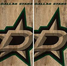 Dallas Stars Cornhole Wrap Nhl Game Board Skin Set Vinyl Decal Co339 Cornhole Bag Toss
