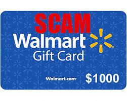 1000 walmart gift card scam virus