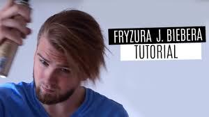 Jak Ukladac Fryzure Z Grzywka Justin Bieber Hairstyle Youtube