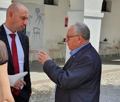 Župan Ivan Jordan in minister za okolje... - Občina Škofljica | Facebook