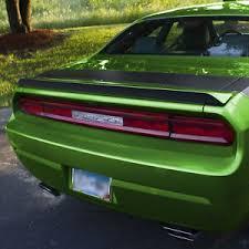 Spoiler Decal Style 1 Black Matte Vinyl Year Graphics Fits Dodge Challenger Ebay
