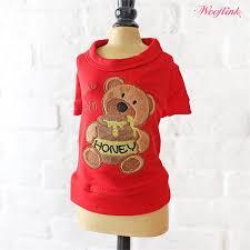 wooflink you re my honey sweatshirt red