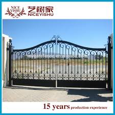 Alibaba Modern Wholesale Entrance Modern Gate Design Philippines Sliding Decorative Hot Sale Factory Price Aluminum Gate View Modern Gate Design Philippines Yishujia Product Details From Shijiazhuang Yishu Metal Products Co Ltd