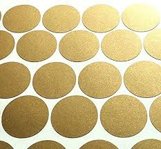Amazon Com Gold Wall Dots 200 Decals 2 Inch Easy Peel Stick Safe On Walls Paint Removable Metallic Vinyl Polka Dot Decor Circle Art Sticker Set For Home