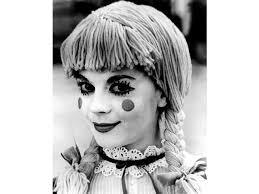natalie wood with ragdoll makeup photo