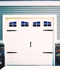 Garage Door Vinyl Decals Carriage House Style Faux Windows With Hardware A For Sale Online