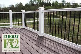 Porch And Deck Railing Vinyl Composite Aluminum Railing Systems Specialty Railing Systems Railin Outdoor Stair Railing Deck Railings Porch Railing Kits