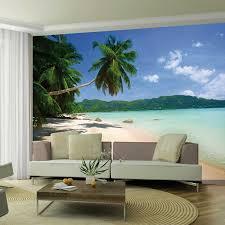 tropical beach giant wall mural dream 007