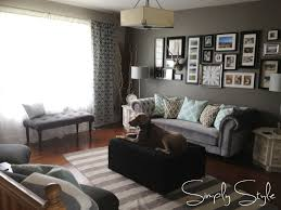living room makeovers country