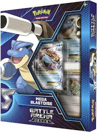 Pokemon Trading Card Game Mega Blastoise Battle Arena Deck Pokemon USA -  ToyWiz