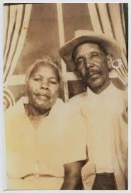 Portrait of an Elderly Azilea Dora Johnson Price and Benjamin Franklin  Price] - The Portal to Texas History