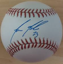 Aaron Altherr New York Mets Autographed Official Major League ...