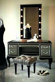 dressing table with lights revo365