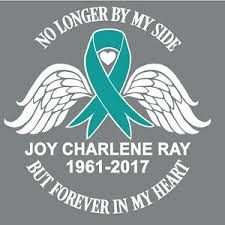 Awareness Ribbon Vinyl Decal No Longer By My Side Forever Heart Window Sticker Ebay