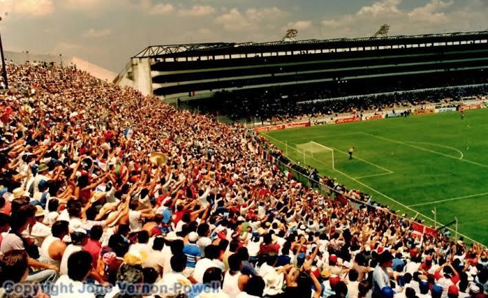 """Resultado de imagen de estadio leon mundial 1986"""""""
