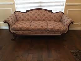 antique duncan phyfe sofa exc cond