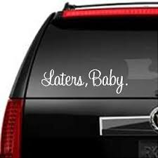 Laters Baby Decal 50 Shades Of Grey Christian Grey 9x2 5 Decal 4 00 Via Etsy Tucking This Away For Later Baby Decals Laters Baby Fifty Shades