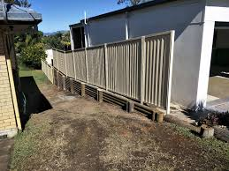 Australian Retaining Walls Treated Pine Log Wall Colorbond Fence Southport Gold Coast Qld Australian Retaining Walls