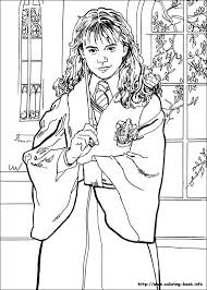 Harry Potter And The Sorcerer S Stone Coloring Pages