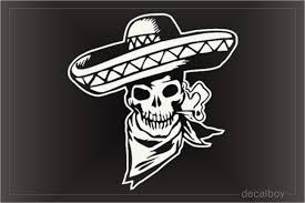 Mexican Decals Stickers Decalboy