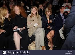 Grace Coddington, Virginia Smith and Anna Wintour Mercedes-Benz ...