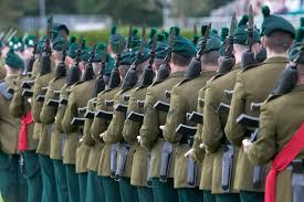 the royal irish regiment wean