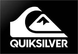 Quiksilver Surf Logo 6 Vinyl Decal Quicksilver Window Surfboard Stick Kandy Vinyl Shop
