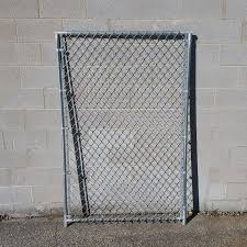 Hoover Fence Chain Link Dog Kennel Panels Heavy Grade Hf20 Frame W 9 Ga Fabric Hoover Fence Co
