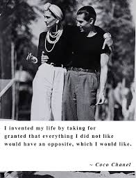 picture quotes by coco chanel on life love and of course
