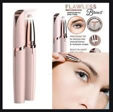 authentic flawless no tweezing brows