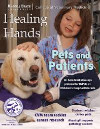 Healing Hands Fall 2011 by K-State College of Veterinary Medicine - issuu