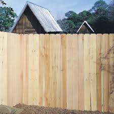 Unbranded 6 Ft X 8 Ft Western Red Cedar 6 In Dogear Fence Panel 03105wrc The Home Depot