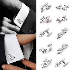 oval shirt wedding cufflinks cuff link