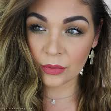 easy everyday glam full face makeup