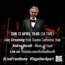 Big Concerts - #TBT This time last year Andrea Bocelli...