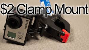 Diy 2 Clamp Mount Gopro Tips And Ticks Youtube